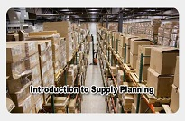 Introduction to Supply Planning